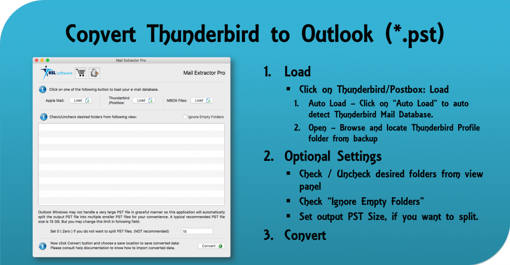 Thunderbird to Outlook Migration
