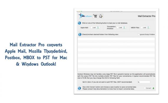 exporting thunderbird email to pst